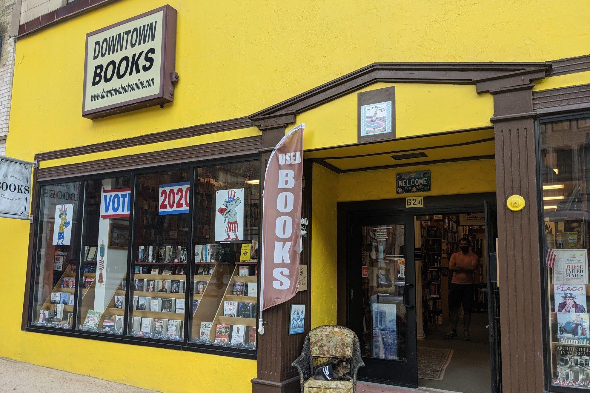 Downtown books in Milwaukee, Wisconsin